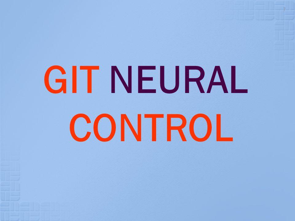 GIT NEURAL CONTROL