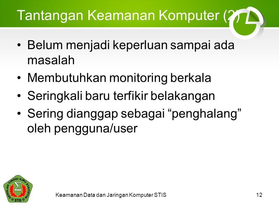 Tantangan Keamanan Komputer (2)