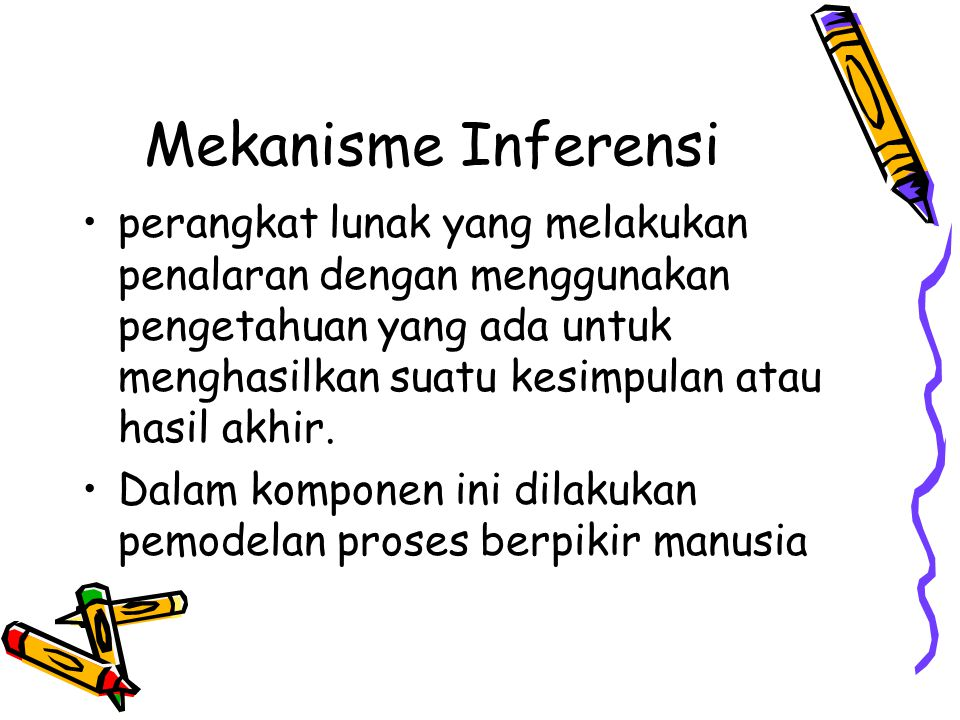 Mekanisme Inferensi