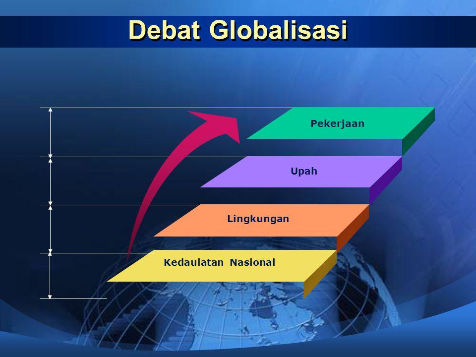 Debat Globalisasi Pekerjaan Upah Lingkungan Kedaulatan Nasional
