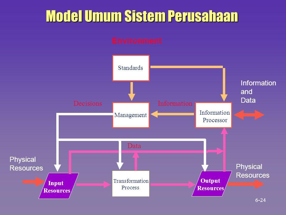 Model Umum Sistem Perusahaan