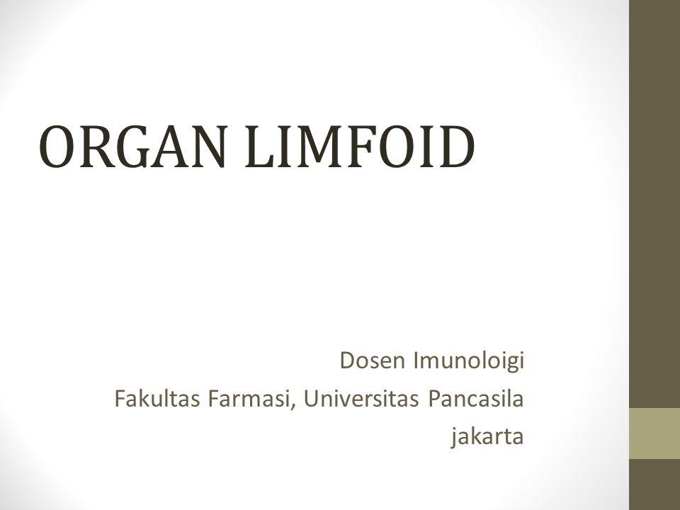Dosen Imunoloigi Fakultas Farmasi, Universitas Pancasila jakarta