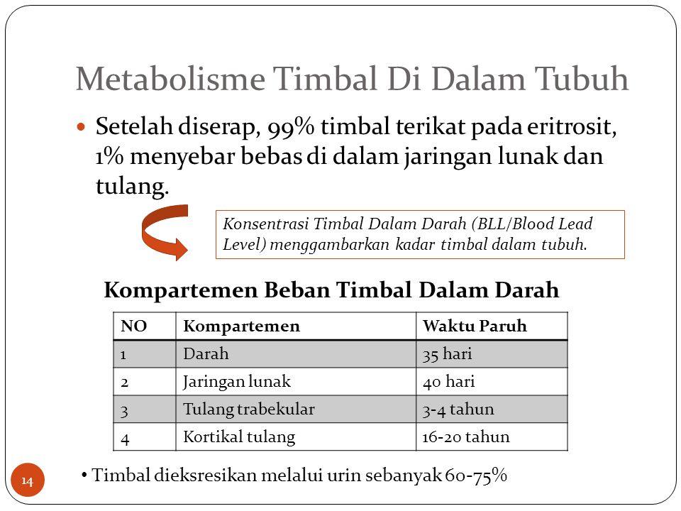 Metabolisme Timbal Di Dalam Tubuh