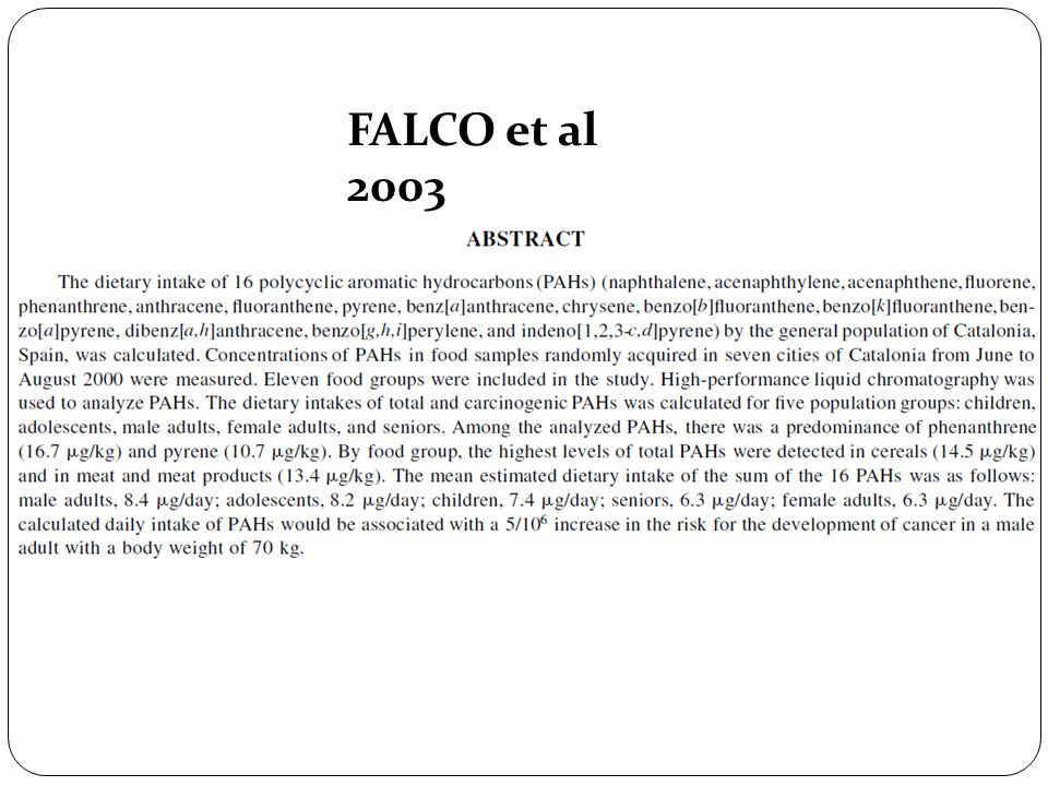 FALCO et al 2003