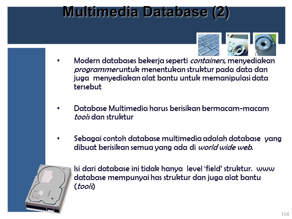 Multimedia Database (2)