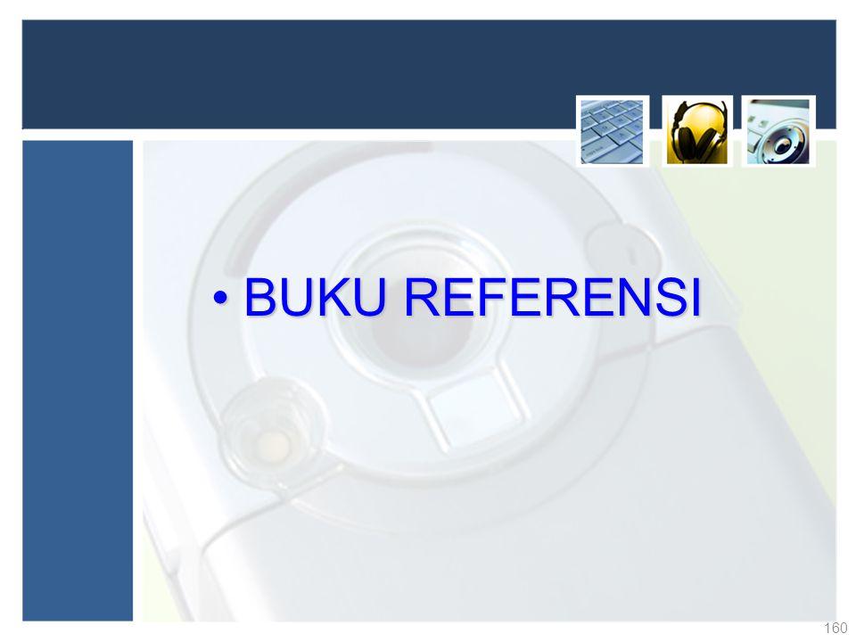BUKU REFERENSI
