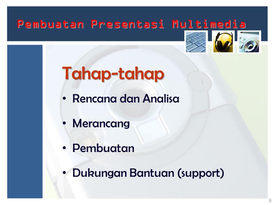 Pembuatan Presentasi Multimedia
