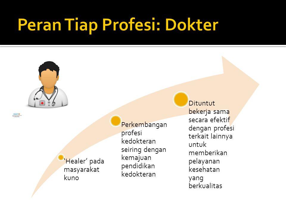 Peran Tiap Profesi: Dokter