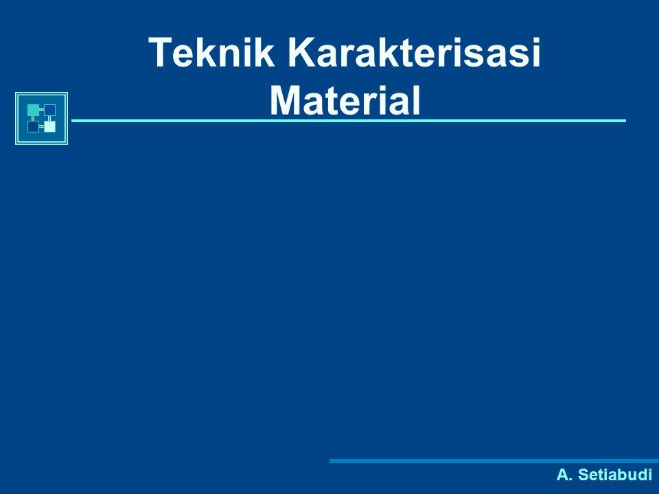 Teknik Karakterisasi Material