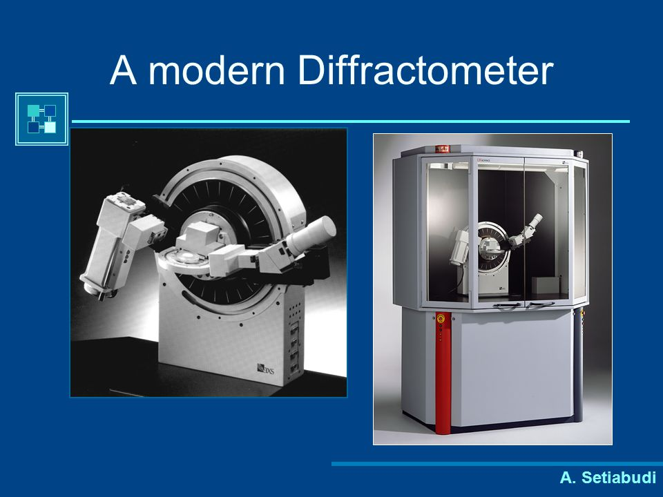 A modern Diffractometer