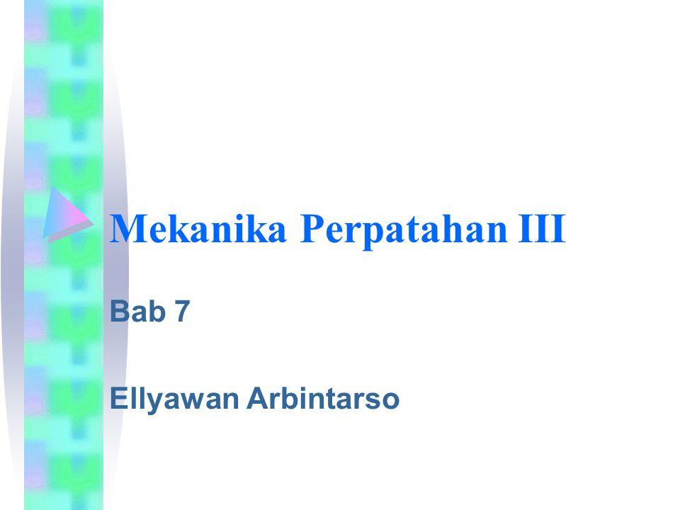 Mekanika Perpatahan III