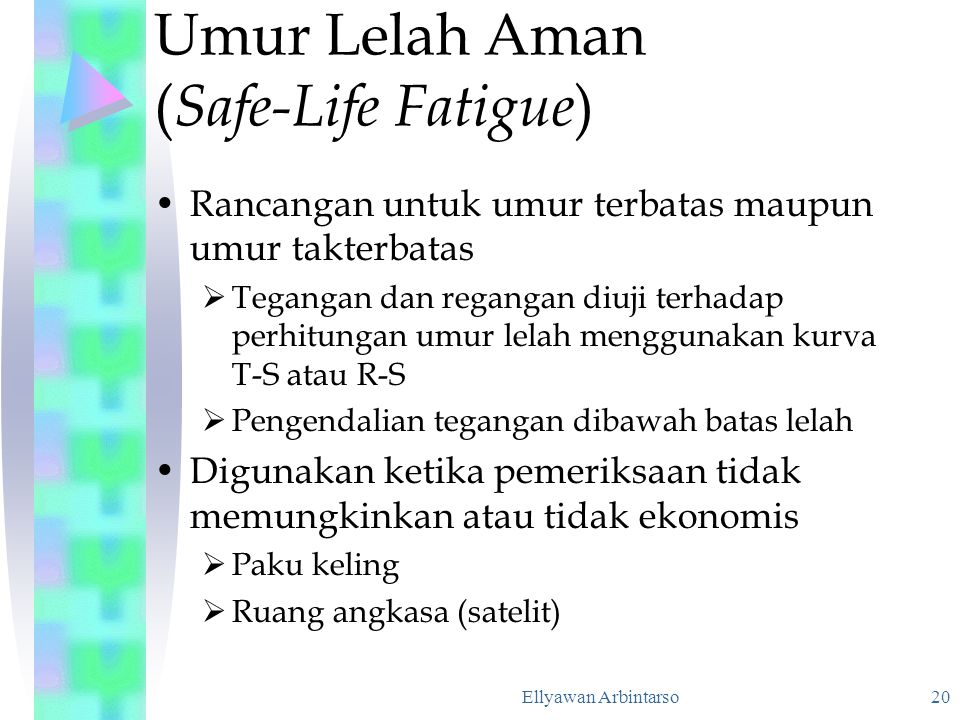Umur Lelah Aman (Safe-Life Fatigue)