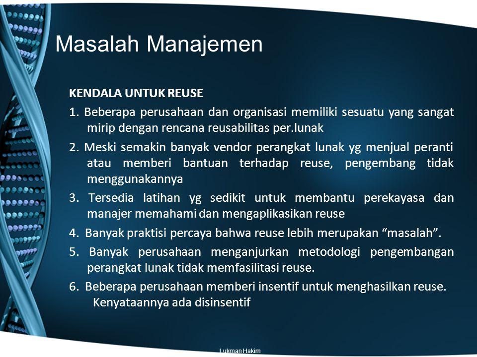 Masalah Manajemen