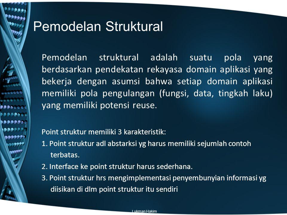 Pemodelan Struktural