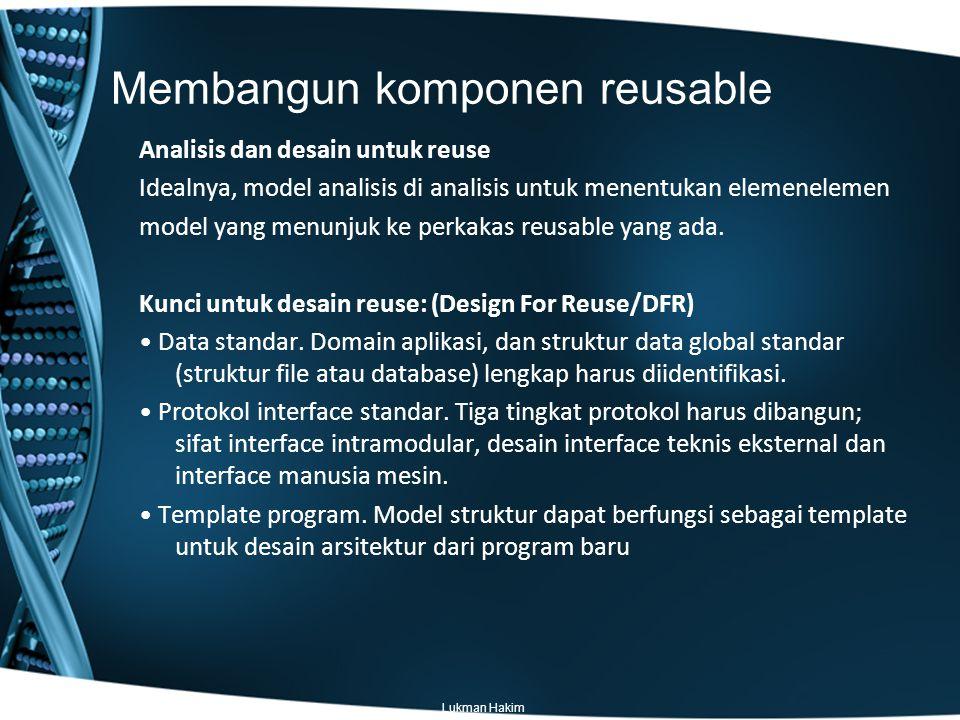 Membangun komponen reusable