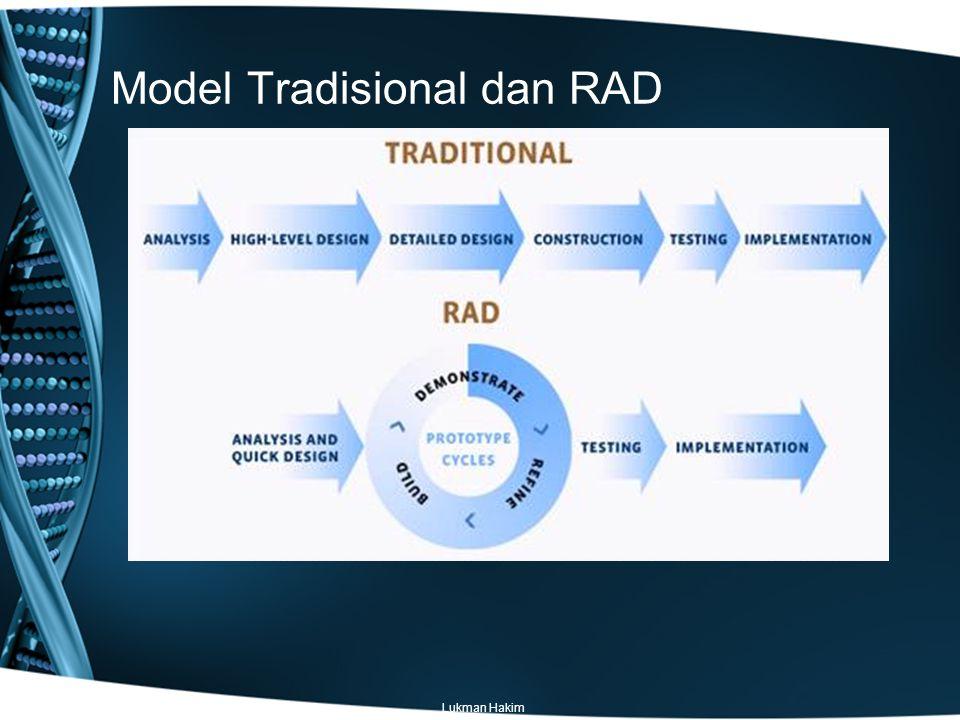 Model Tradisional dan RAD