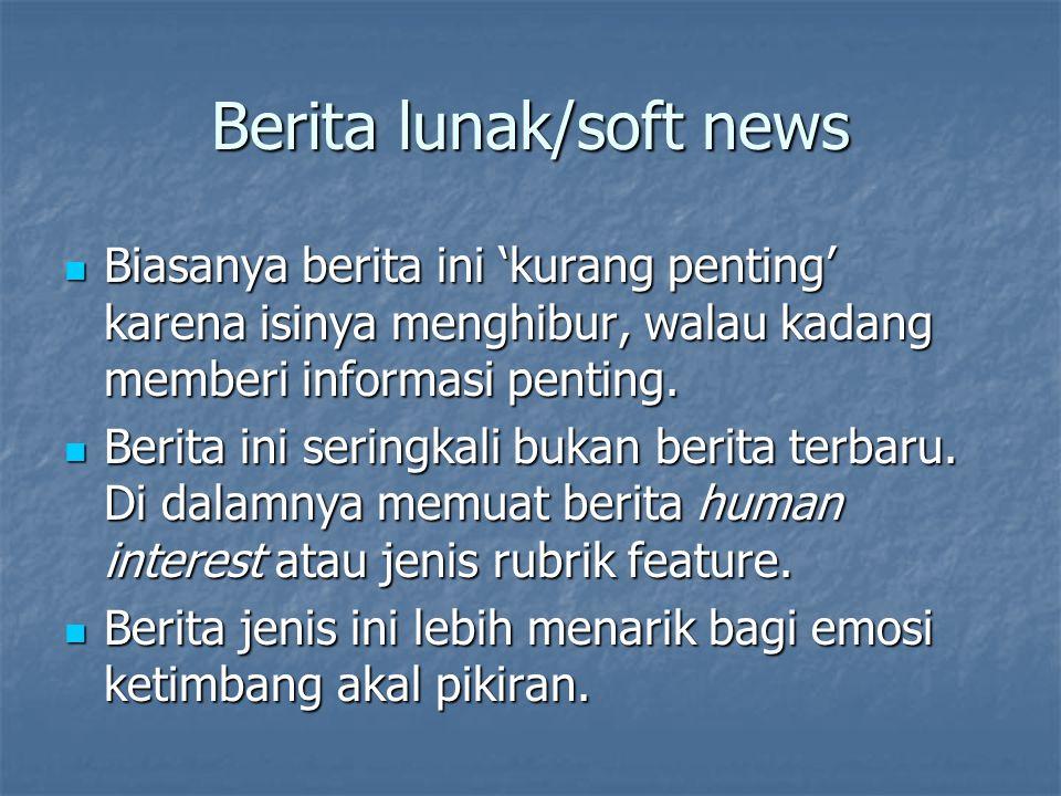 Berita lunak/soft news
