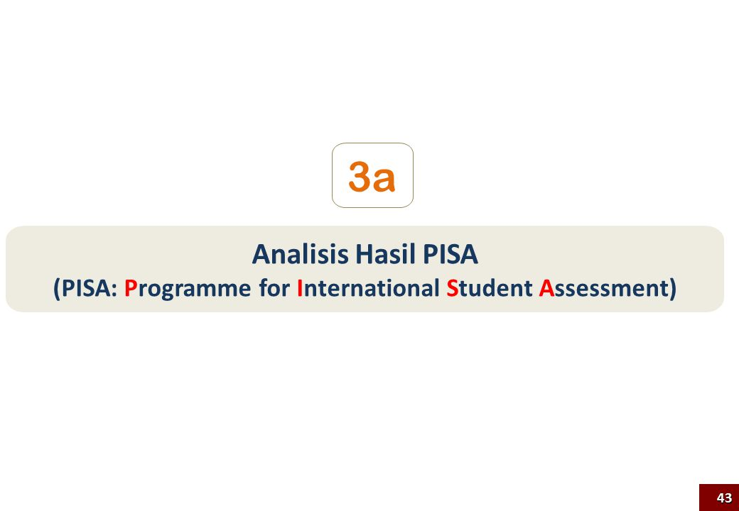 (PISA: Programme for International Student Assessment)