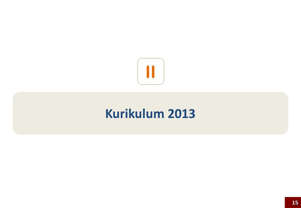 II Kurikulum 2013 15