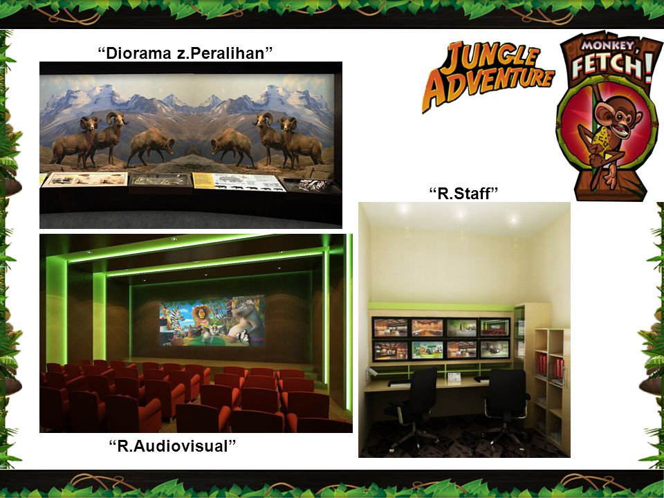 Diorama z.Peralihan R.Staff R.Audiovisual