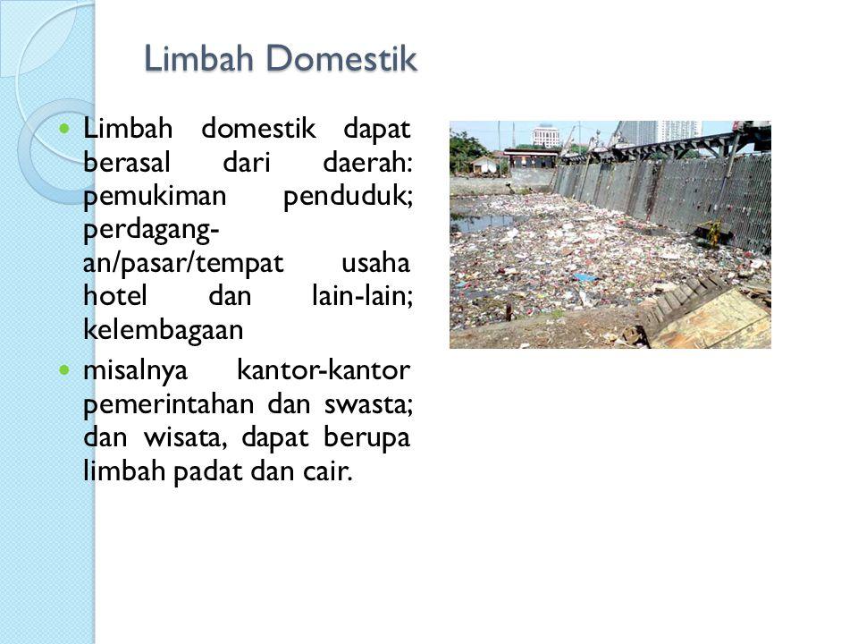 Limbah Domestik