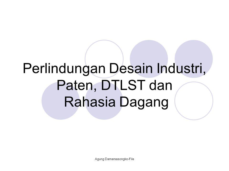 Perlindungan Desain Industri, Paten, DTLST dan Rahasia Dagang