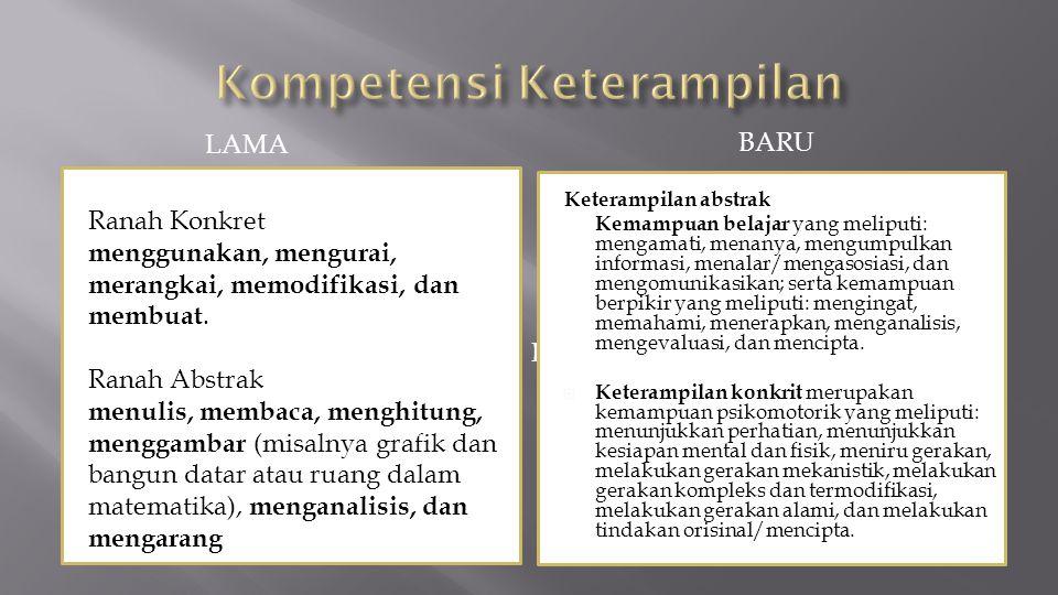 Kompetensi Keterampilan