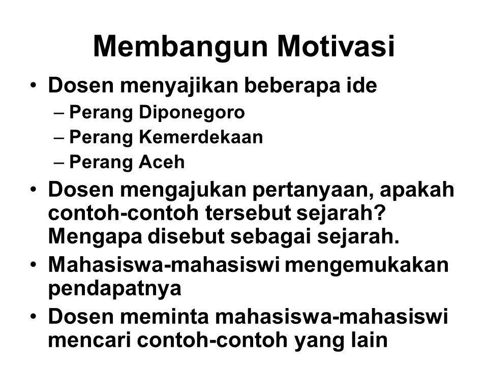 Membangun Motivasi Dosen menyajikan beberapa ide