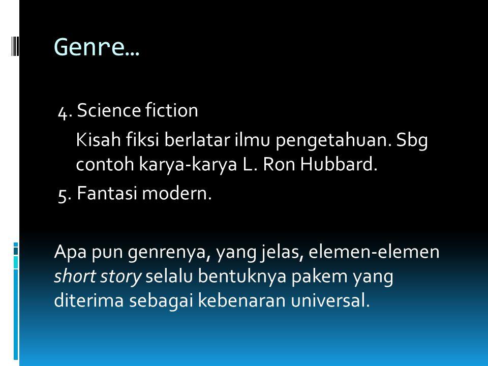 Genre…