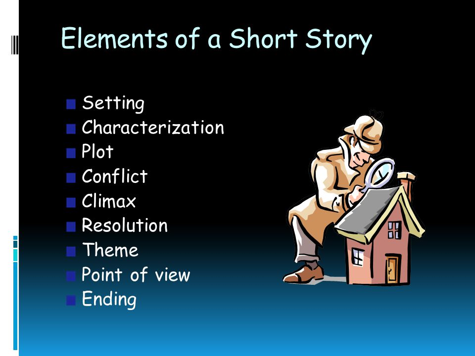 elements of a short story Five important short story elements-- created using powtoon -- free sign up at make your.
