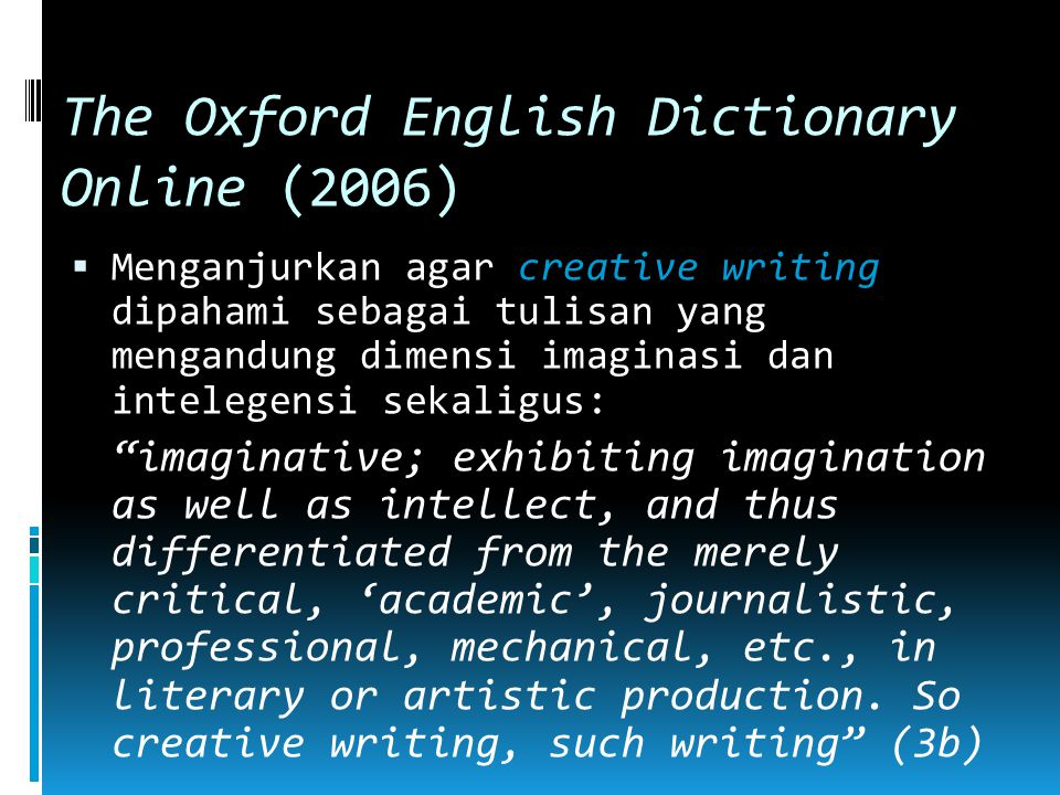The Oxford English Dictionary Online (2006)