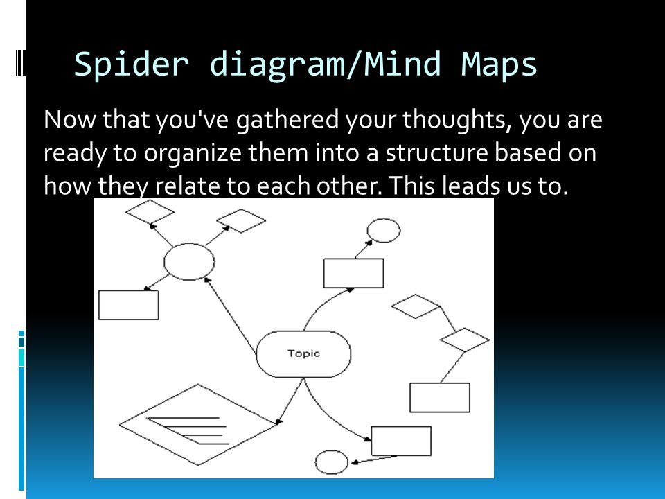 Spider diagram/Mind Maps