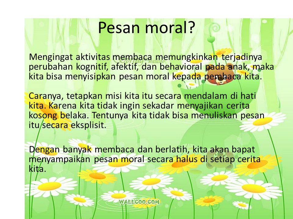 Pesan moral