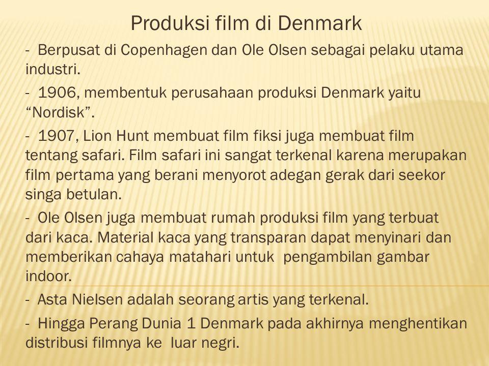 Produksi film di Denmark