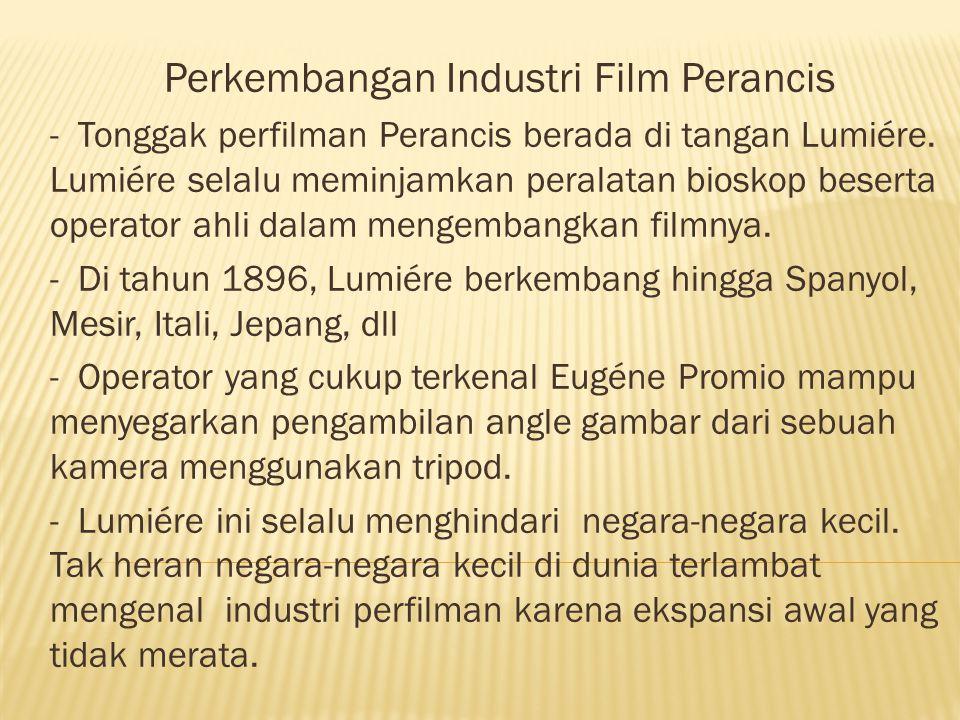 Perkembangan Industri Film Perancis