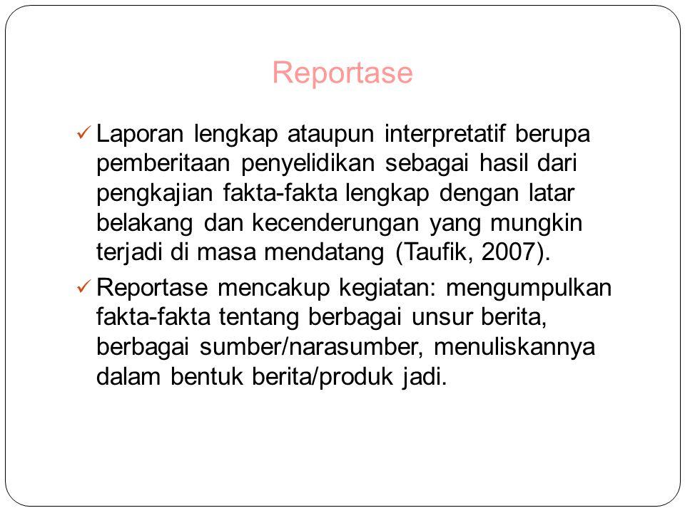 Reportase