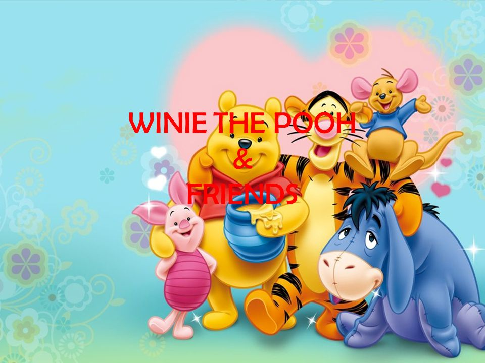 WINIE THE POOH & FRIENDS