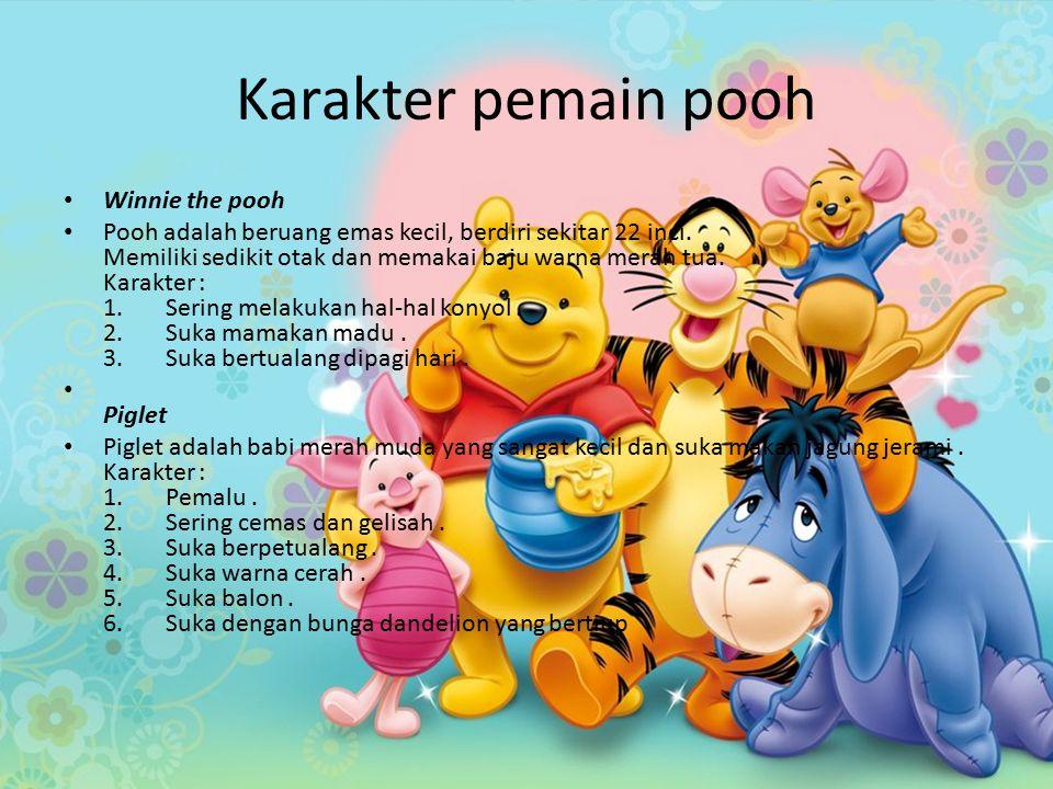 Karakter pemain pooh Winnie the pooh