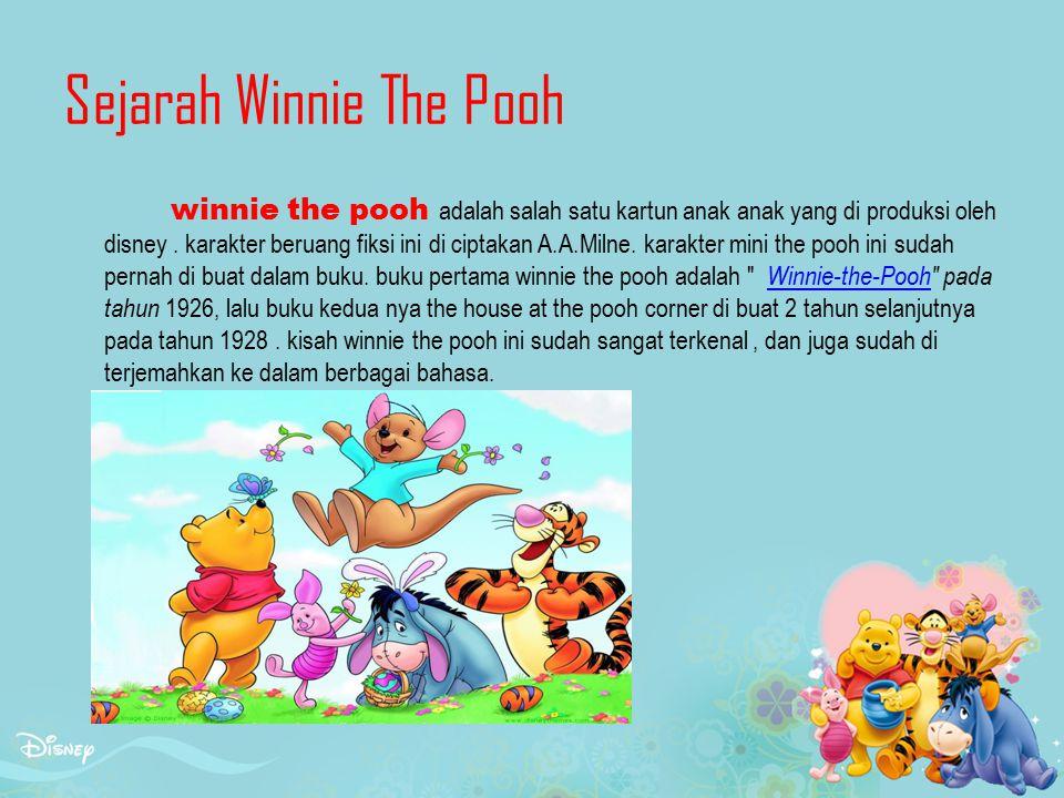 Sejarah Winnie The Pooh