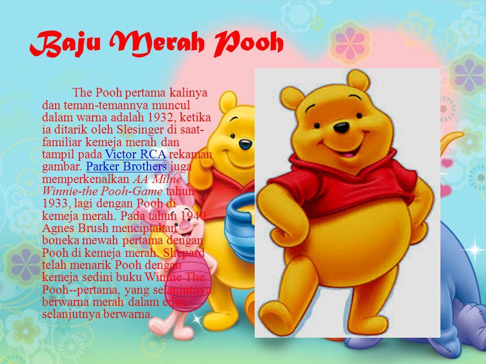 Baju Merah Pooh
