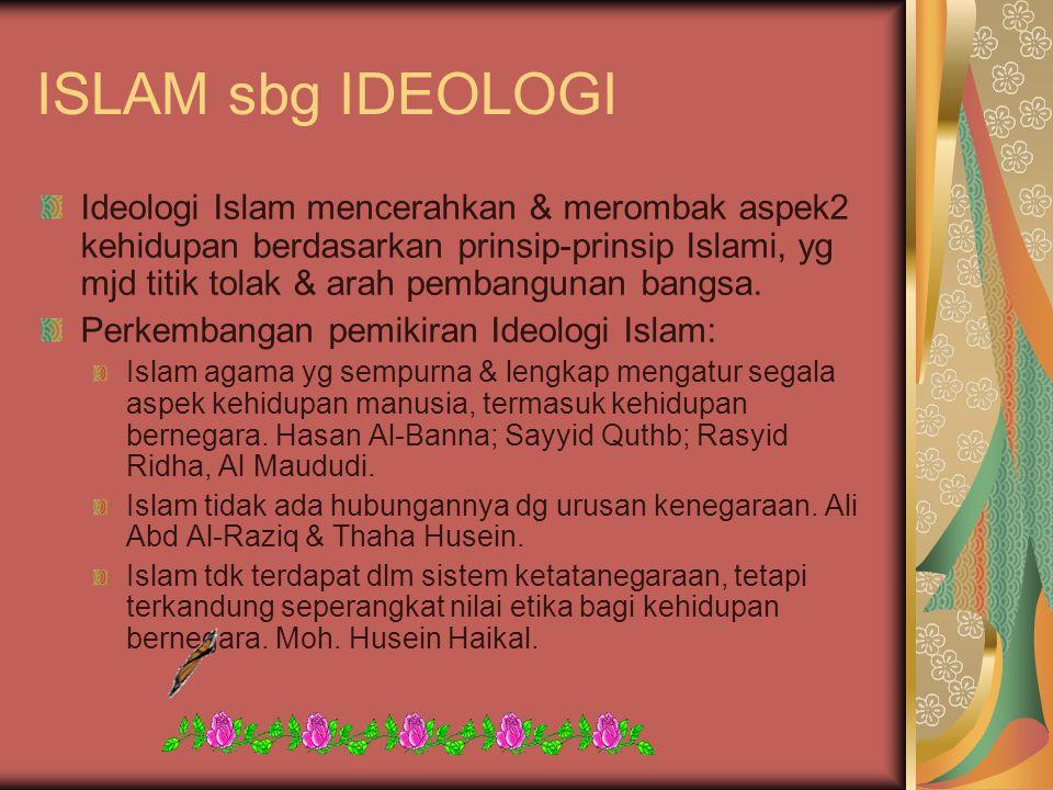 ISLAM sbg IDEOLOGI