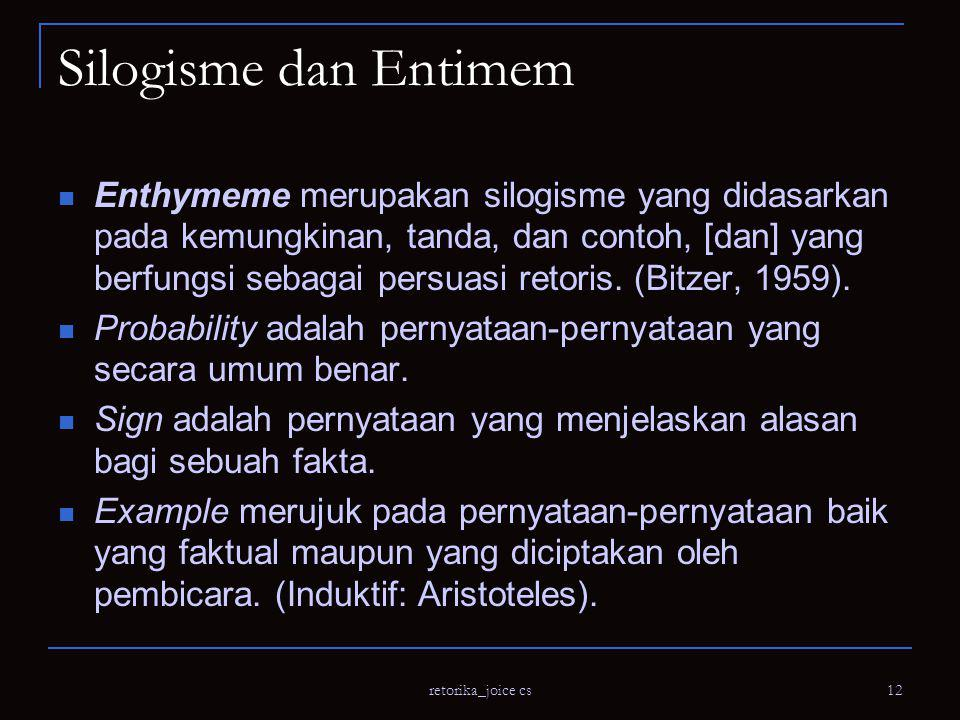 Silogisme dan Entimem