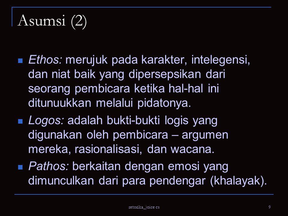 Asumsi (2)