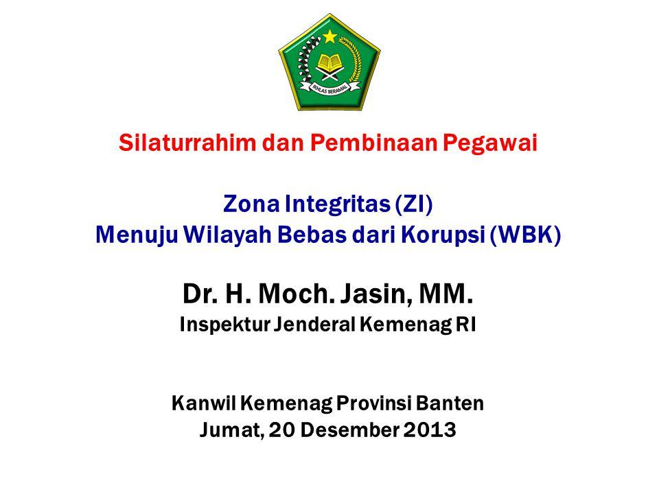 Dr. H. Moch. Jasin, MM. Silaturrahim dan Pembinaan Pegawai