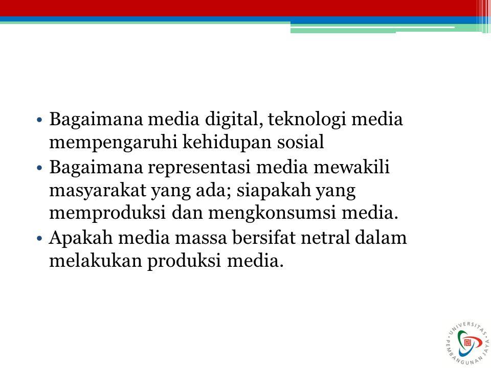 Bagaimana media digital, teknologi media mempengaruhi kehidupan sosial