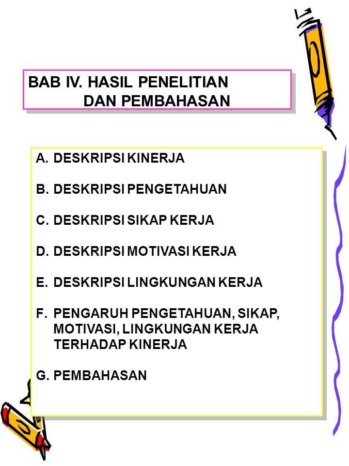 BAB IV. HASIL PENELITIAN DAN PEMBAHASAN