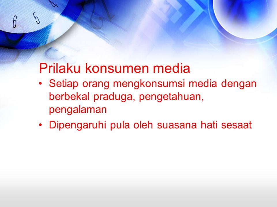 Prilaku konsumen media