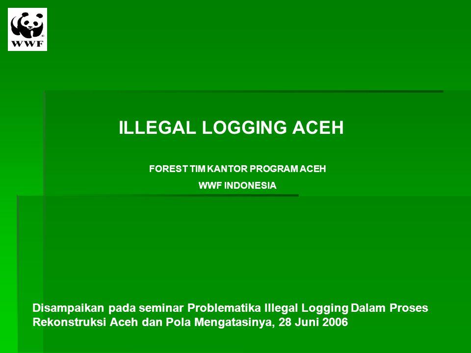FOREST TIM KANTOR PROGRAM ACEH