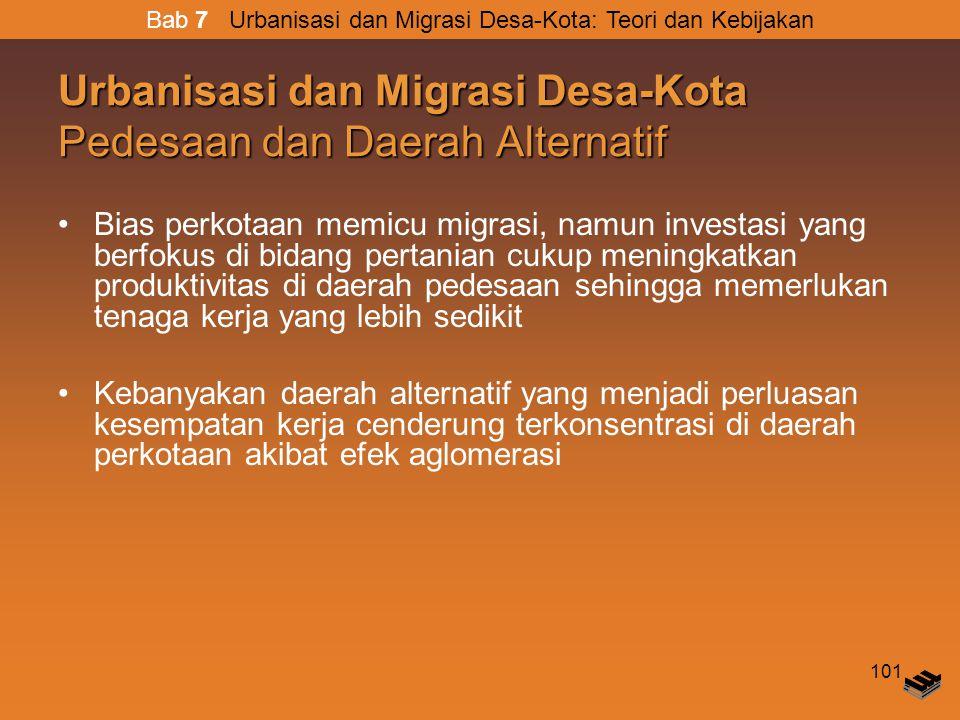 Urbanisasi dan Migrasi Desa-Kota Pedesaan dan Daerah Alternatif