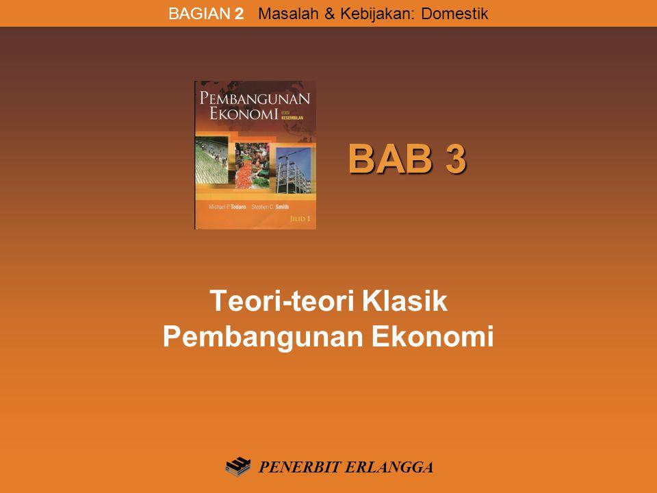 Teori-teori Klasik Pembangunan Ekonomi